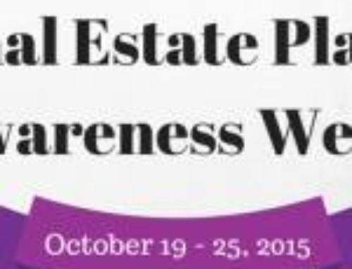 Supporting the National Estate Planning Awareness Week